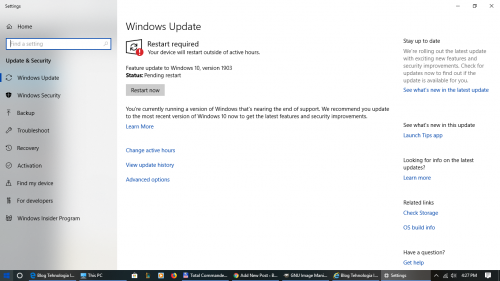 Actualizare windows 10, Windows 10 updates