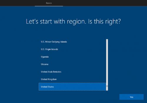 instalare windows 10,limba engleza