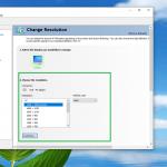 change resolution nvidia