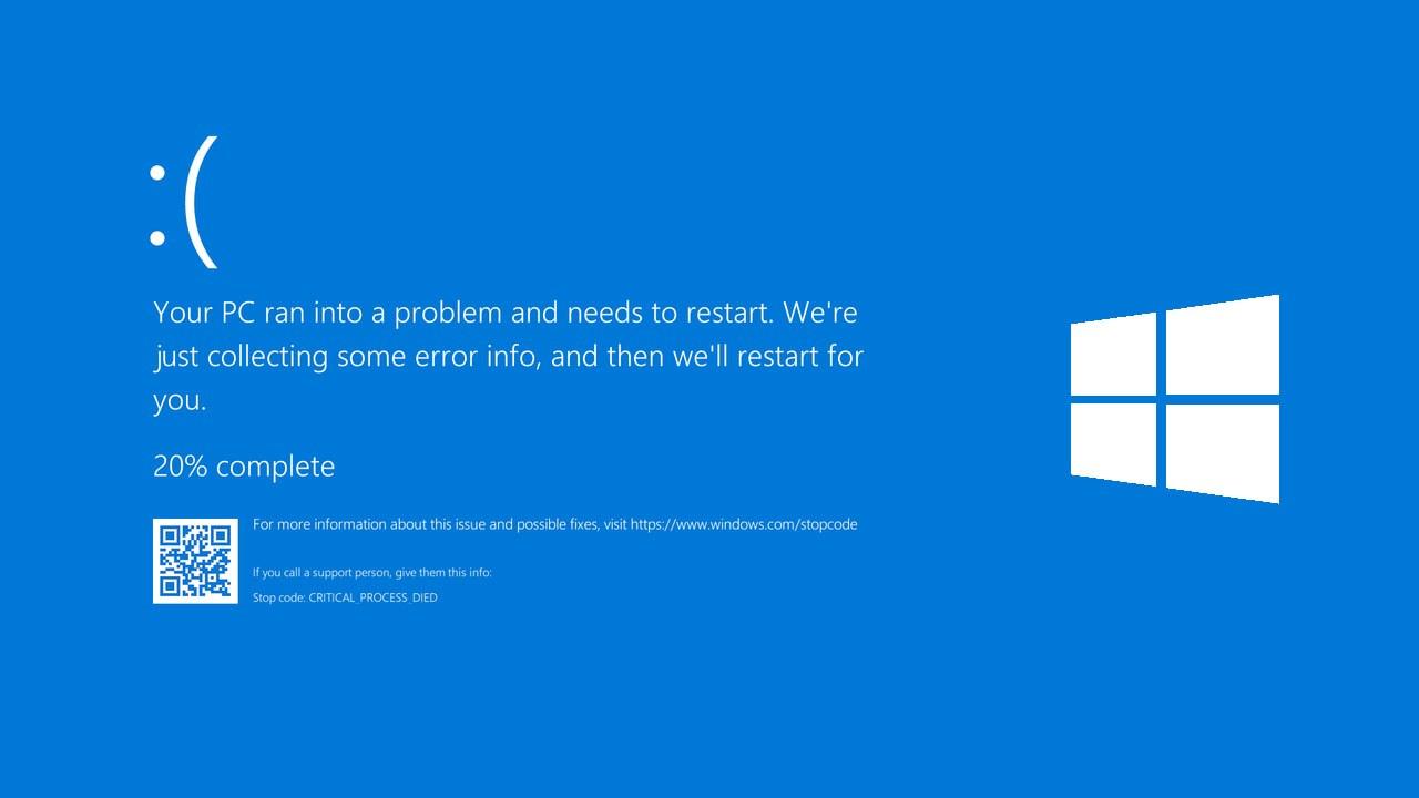 Windows 10 actualizează ștergând fișierele și cauzând erori Blue Screen