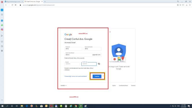 Creare cont mail gratuit