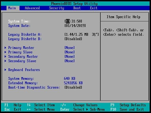 Cum intru in BIOS de pe PC ori Laptop