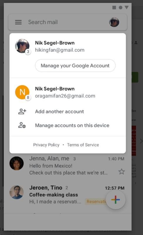 instalare gmail aplicatie