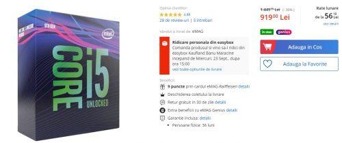 procesor ieftin de gaming