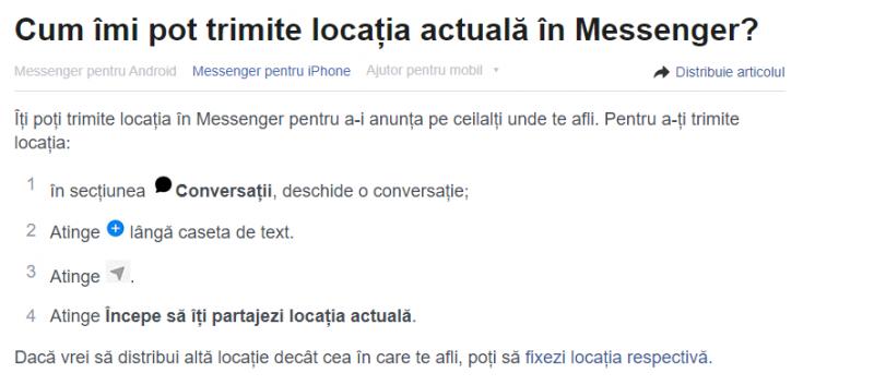 share location iphone