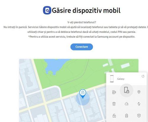samsung lost phone