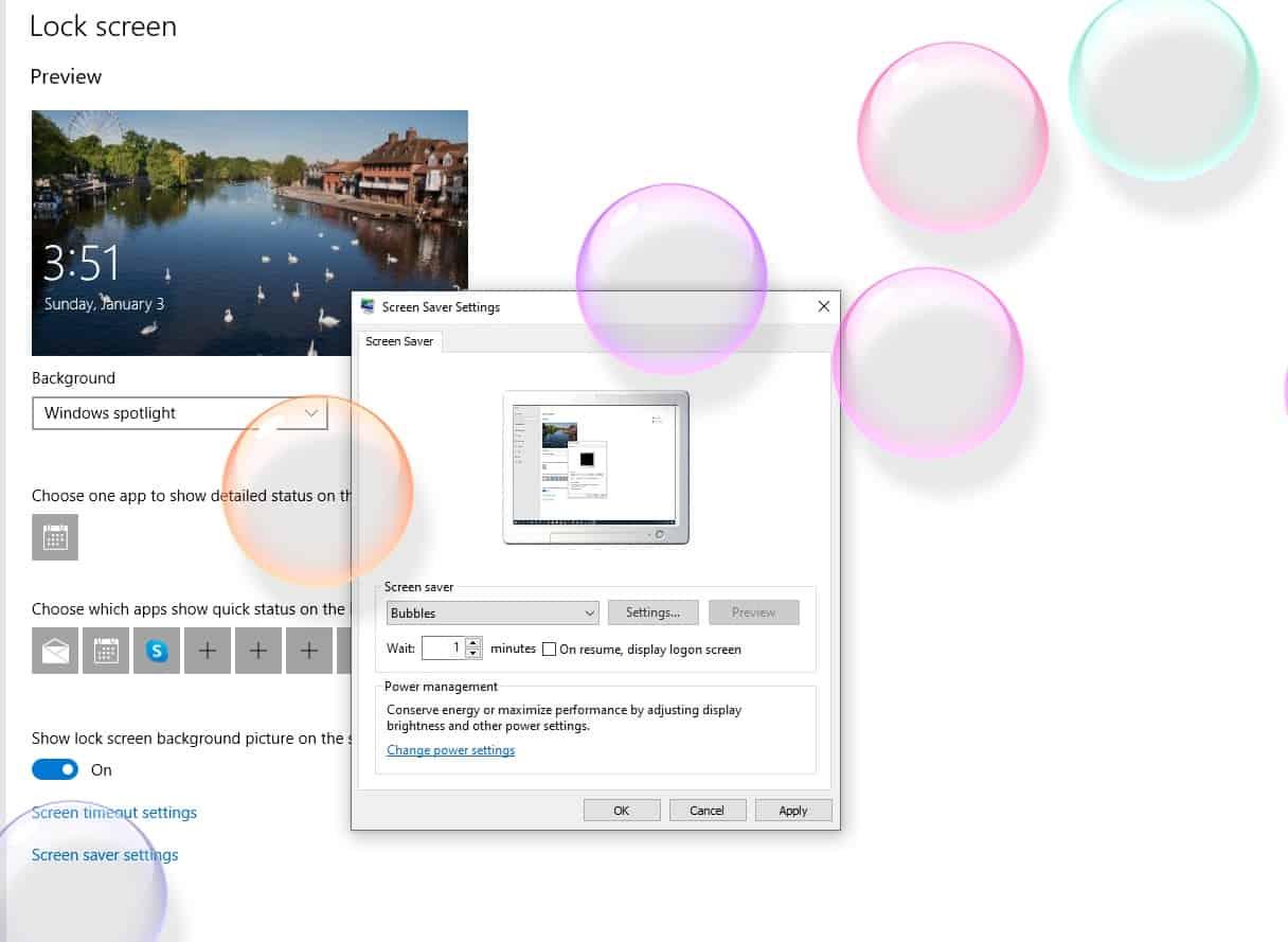bubbles-screen-saver