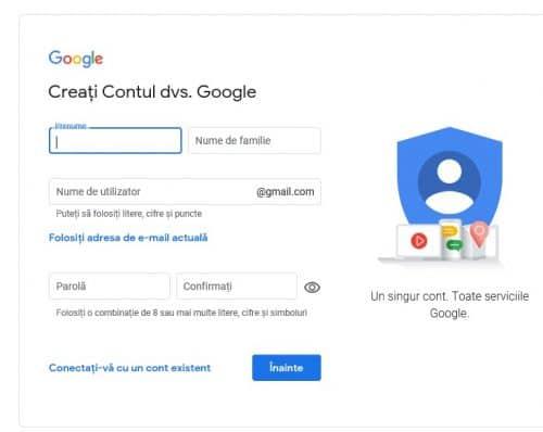 date cont google