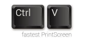 printscreen: ctrl+V