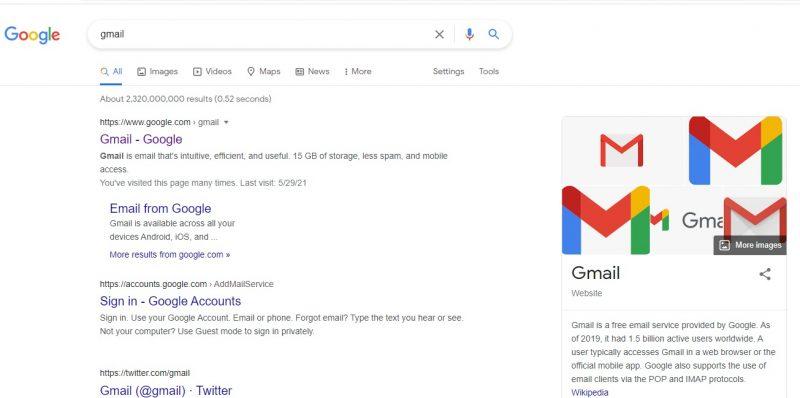cum trimiteti un mail din gmail