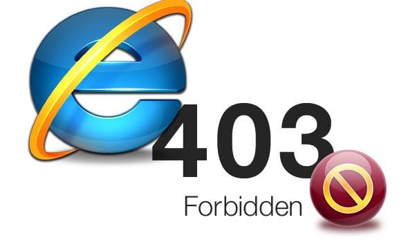 Browserul Internet Explorer o sa fie sters permanent