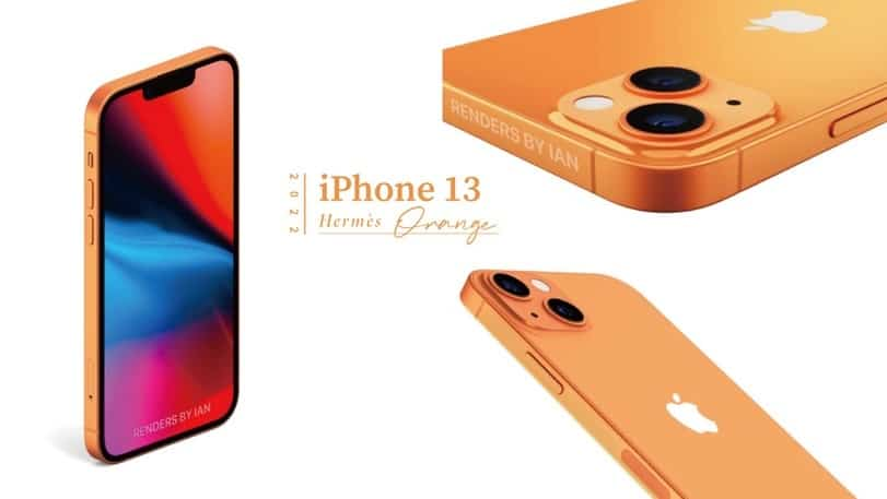iphone 13-portocaliu